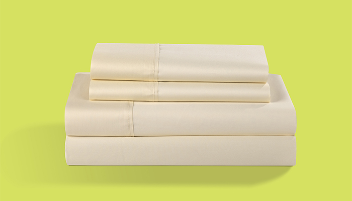 Hyper Cotton Sheet Set - Champagne Color